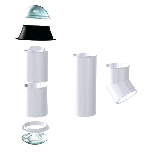 un puits de lumi re pour une pi ce sans fenetre mat riaux et bricolage. Black Bedroom Furniture Sets. Home Design Ideas