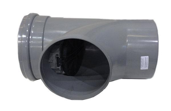 Clapet anti retour PVC à joint ouvert