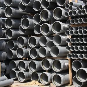 Tuyau pvc à joint pour réseau d'assainissement
