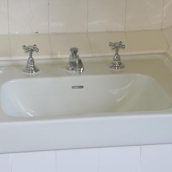 Lavabo Herbeau villa cavrois