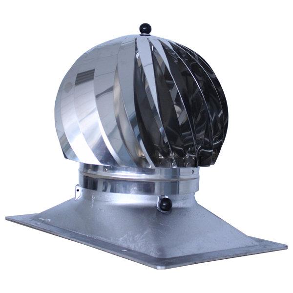 extracteur éolien base rectangulaire