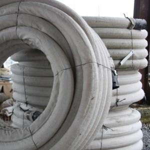 drain agricole avec géotextile