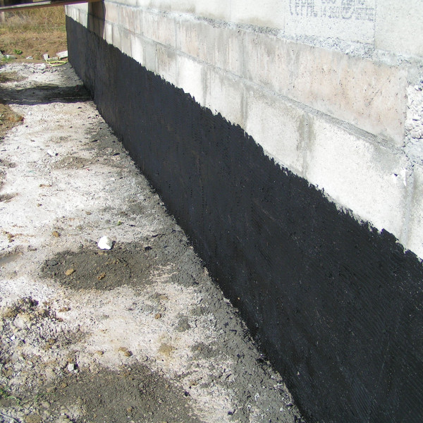 L humidit dans les murs mat riaux et bricolage for Protection mur exterieur enterre