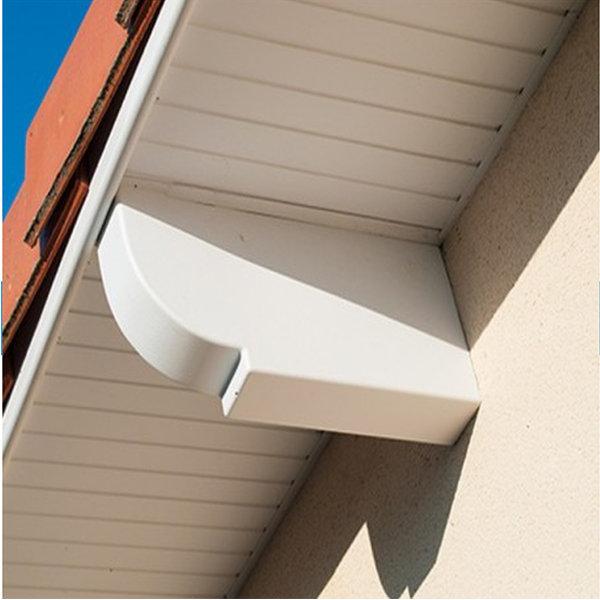 Les cache pannes pvc conseils et astuces materiaux et - Lambris bois exterieur sous toiture ...