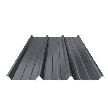 plaque acier couleur gris