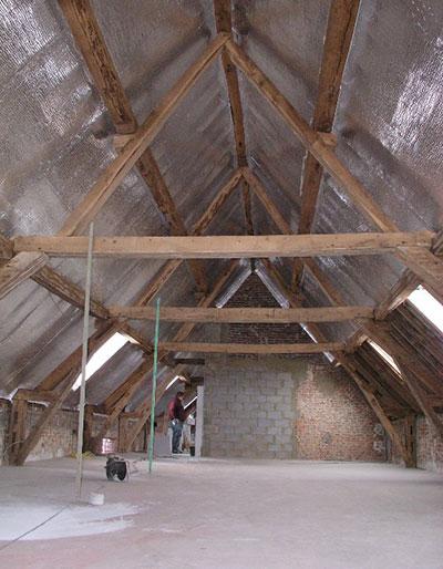 starflex isolant toiture