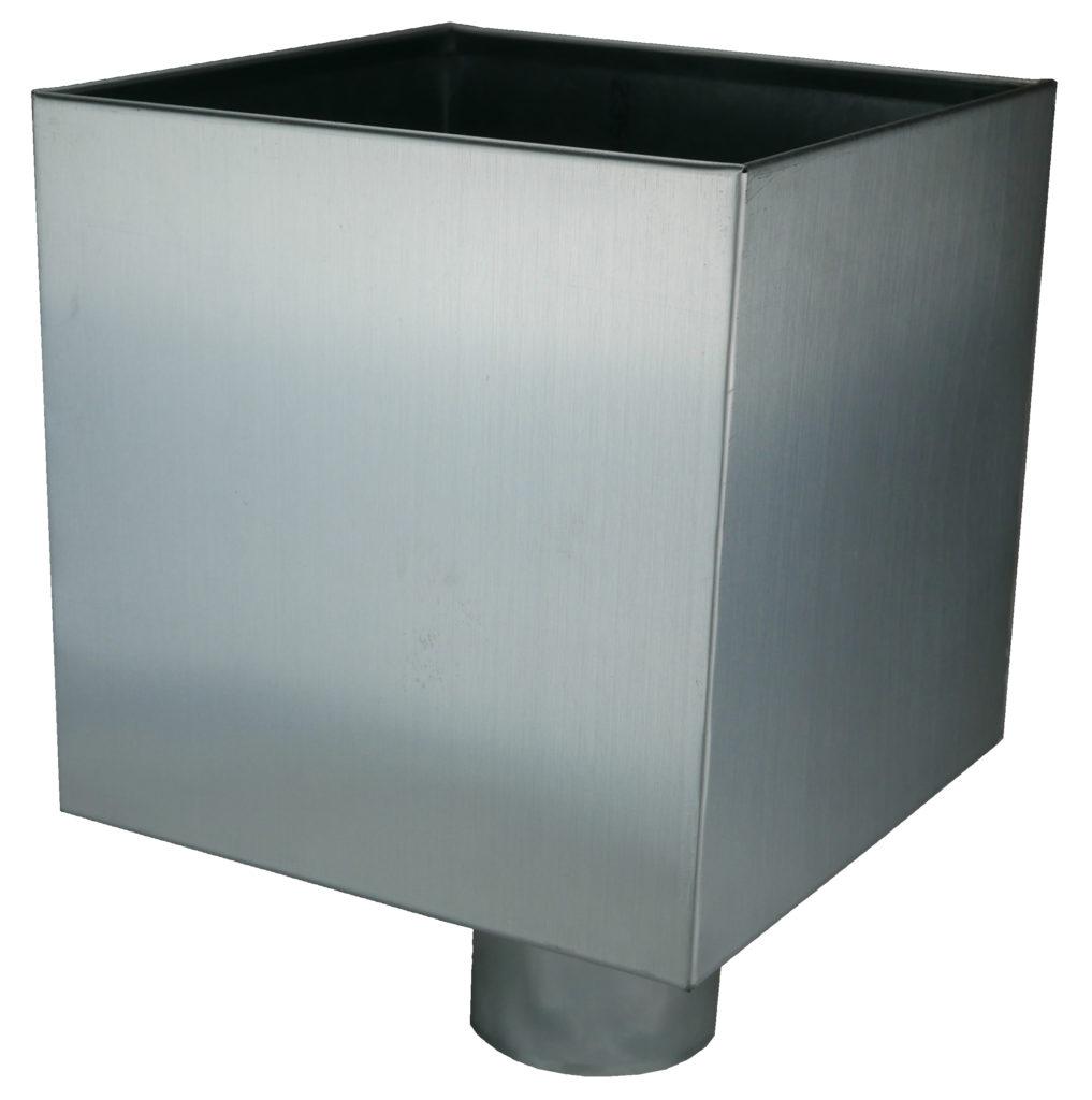 Image d'une boîte à eau en Zinc
