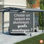 carport aluminium avantages
