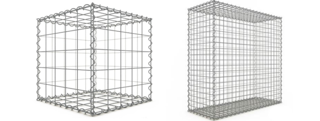 gabion maille 10x10 et 5x5