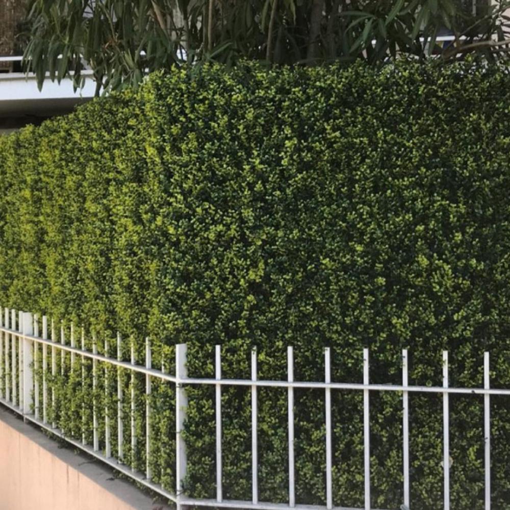 buis vert artificiel pour clôture